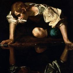 Narcissus, Caravaggio, 1597–1599